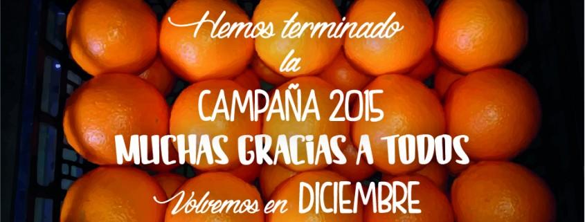 Finalizamos campaña 2014-2015